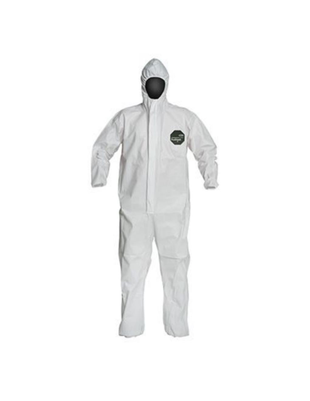 Dupont SMS General Purpose Coveralls, Size L -  1-Pack