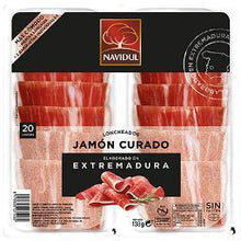 Load image into Gallery viewer, Jamón Curado en Lonchas NAVIDUL- 138 Gr - A Spanish Bite