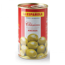 Load image into Gallery viewer, Aceitunas Verdes Rellenas de Anchoa La Española - A Spanish Bite