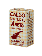 Load image into Gallery viewer, Caldo  Natural de Jamón ANETO- 1L - A Spanish Bite