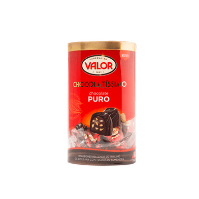 Bombones Chocolate puro VALOR - A Spanish Bite