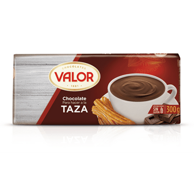 Chocolate a la taza en tableta VALOR - A Spanish Bite