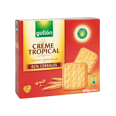 Galletas Creme Tropical GULLÓN - A Spanish Bite