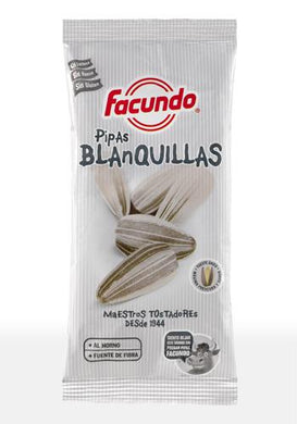 Pipas Blanquillas FACUNDO- 140 gr - A Spanish Bite