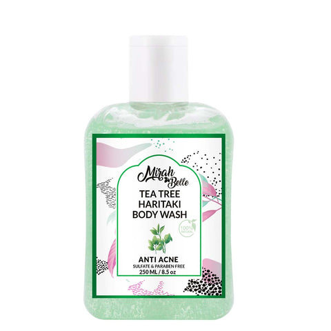 Tea Tree, Haritaki - Natural Anti-Acne Body Wash