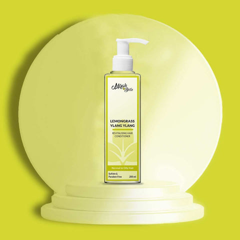 Lemongrass - Ylang Ylang - Oily Hair - Natural Conditioner