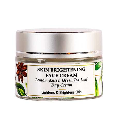 Lemon, Anise seed, Mulberry - Skin Brightening Face Cream