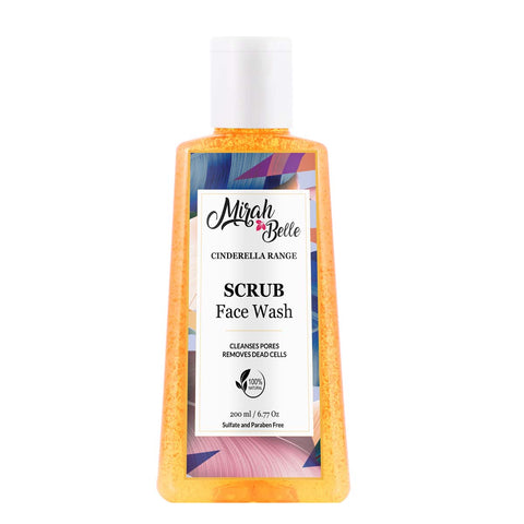 Neroli, Calendula - Natural Exfoliating Face Wash