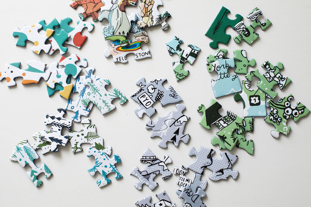 Brainstorm Puzzle Co. - Illustrated jigsaw puzzles for indoor adventures inspired by outside things!