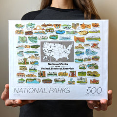 Brainstorm National Parks Jigsaw Puzzle