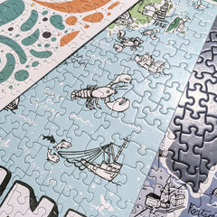 Jigsaw Puzzles from Brainstorm Puzzle Company