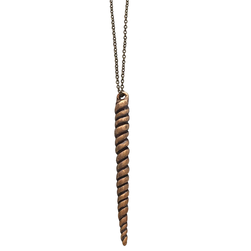 Narwhal Necklace by Dana Young Jewelry, Vegan Designer