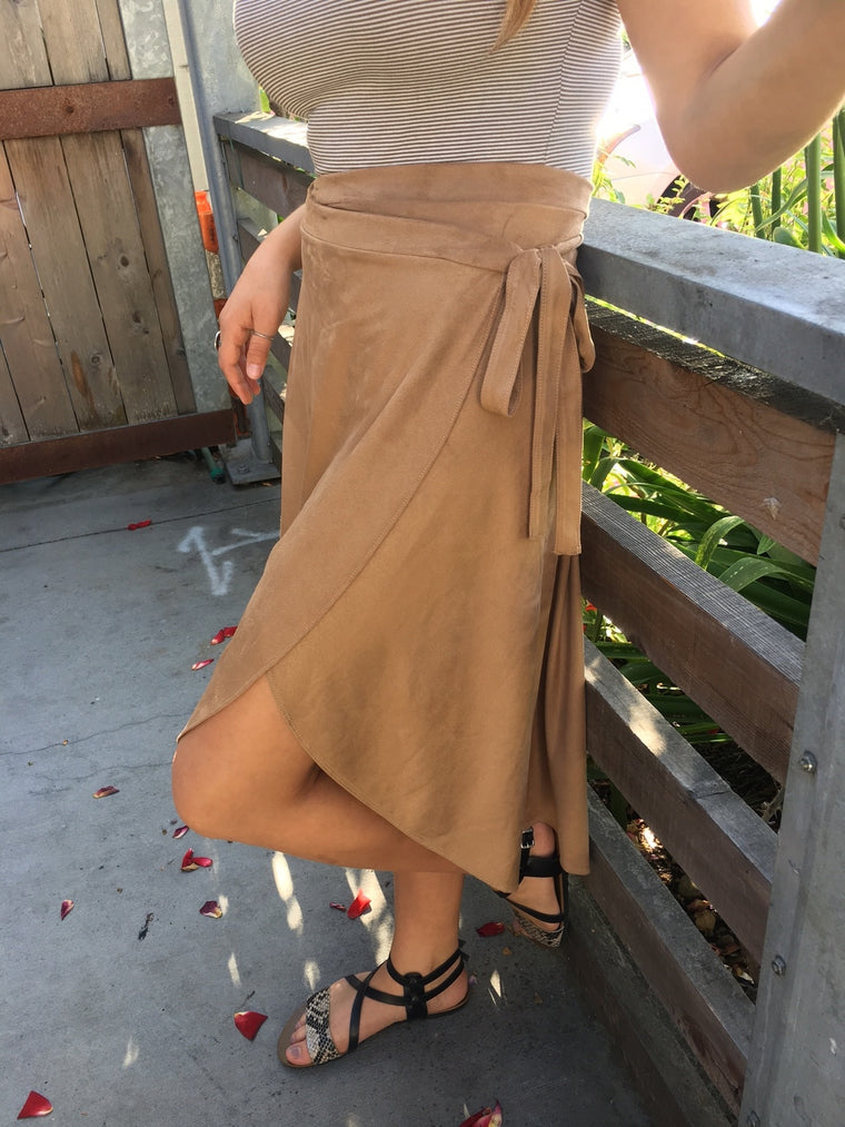 Mod Ref The Suede Skirt
