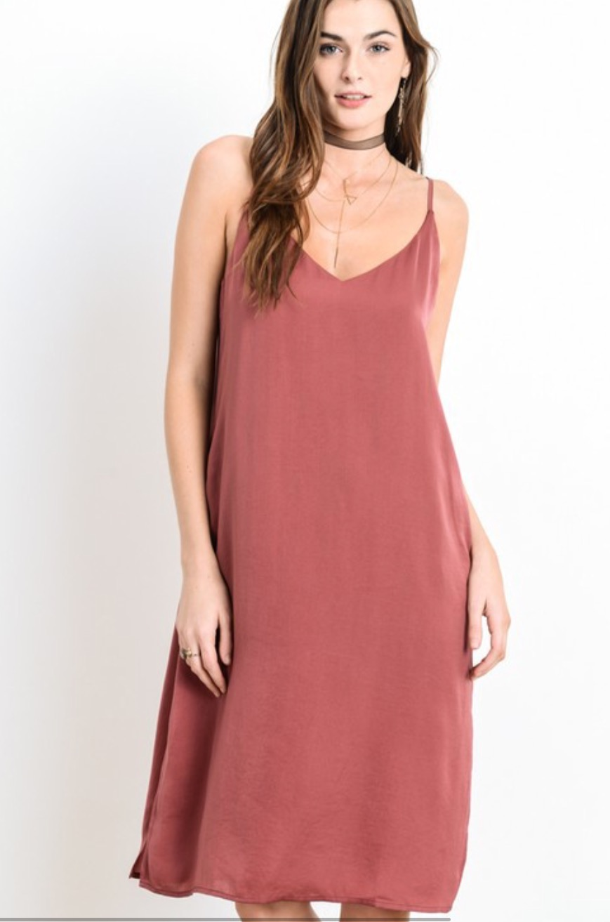 Wishlist vneck cami dress