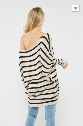 Promesa Loose Fit Stripe Tunic