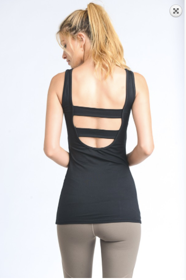 Mono B Cutout back active top