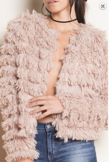 Faith Apparel Faux Fur Jacket