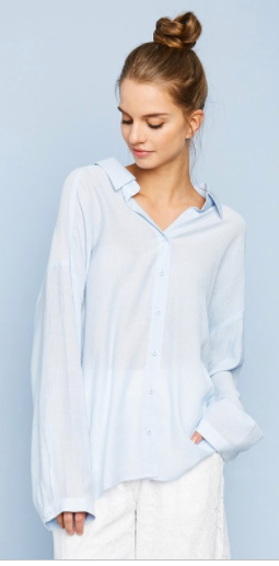 Hayden Oversized Button up