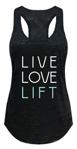 Ever Hottie Live,Love,Lift Tank/