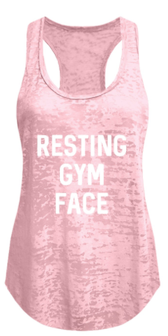 Ever Hottie Gym Face Tank