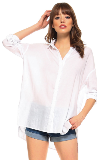 TCEC Rolled Sleeve Button Down Shirt