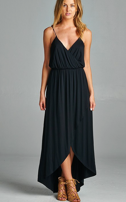 La Vida maxi dress with cinched waist