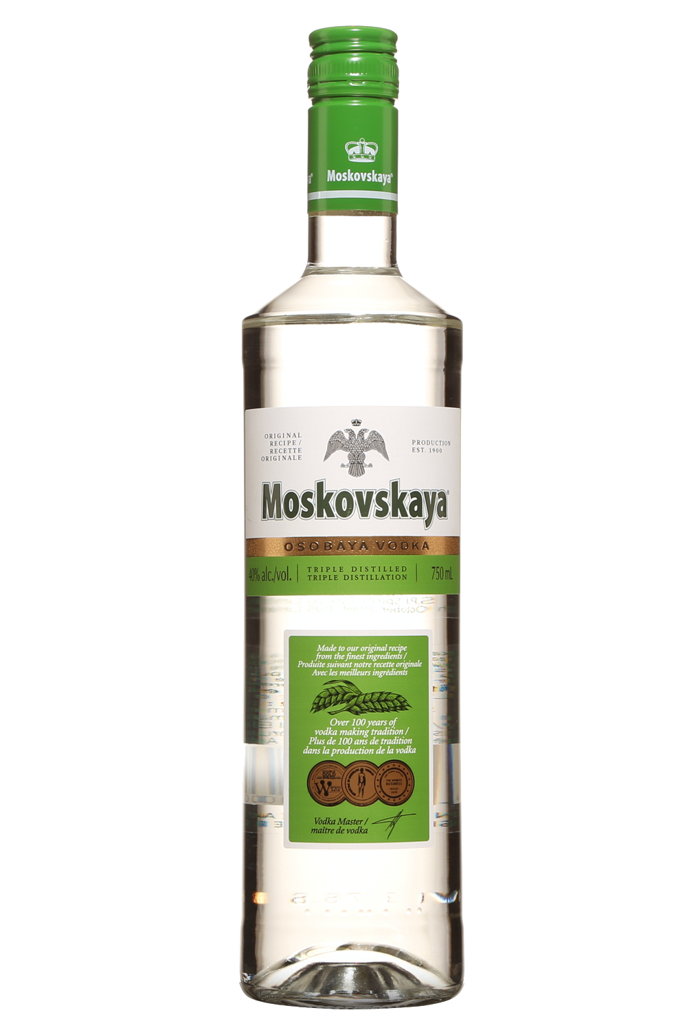 Moskovskaya vodka 0.70 cl