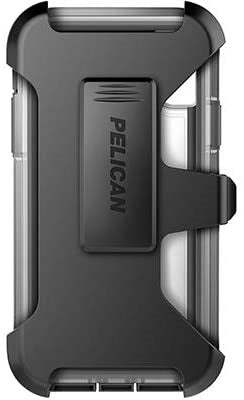 Pelican Voyager Case for iPhone X/XS (Clear/Grey)