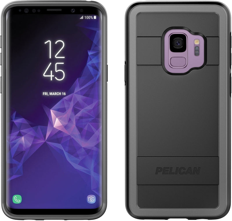 Pelican Protector Case for Galaxy S9 (Black)