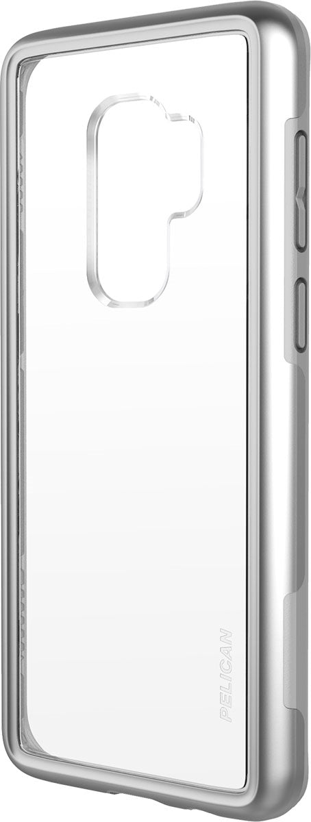 Pelican Adventurer Case for Galaxy S9+ (Clear/Silver)