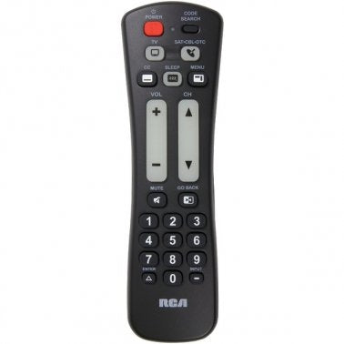 RCA RCRH02BE 2-Device Universal Remote