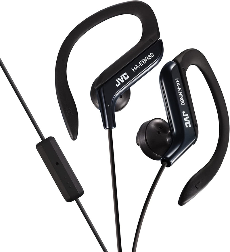 JVC Sport Headphones with Microphone (Black)