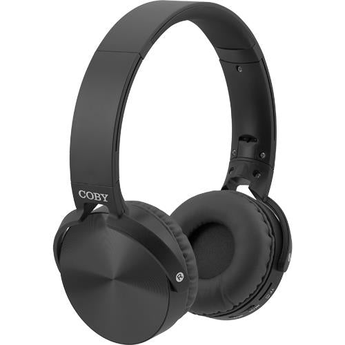 Coby Bluetooth Wireless Metal Folding Headphones