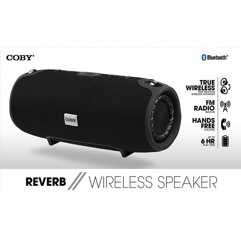"Coby ""Reverb"" Wireless Speaker (Black)"