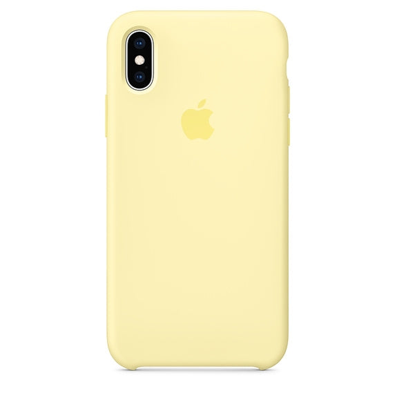 Apple Silicone Case for iPhone XS Max (Mellow Yellow)