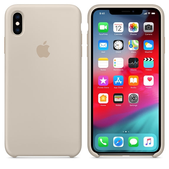 Apple Silicone Case for iPhone X/XS (Stone)