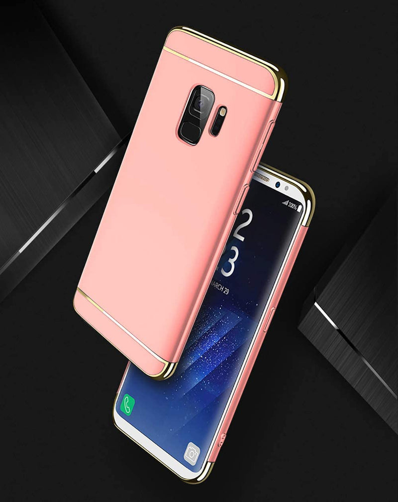 NAISU Ultra Slim & Rugged Fit Shock Drop Proof Impact Resist Protective Hard Case for Samsung Galaxy S9