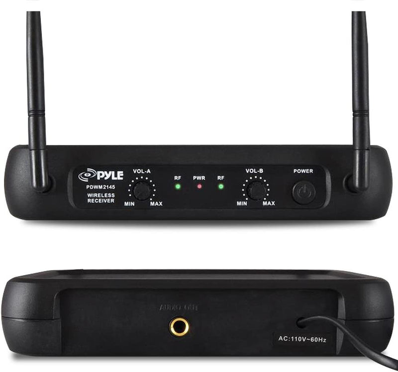 Pyle PDWM2145 Fixed-Frequency Wireless Microphone System