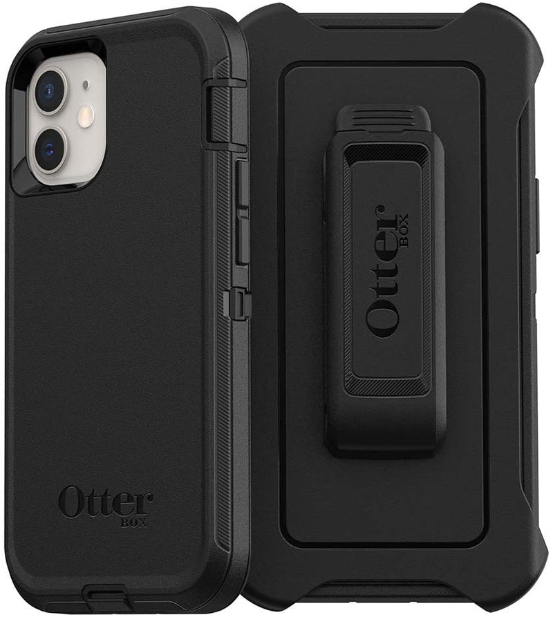 OtterBox Defender Case for iPhone 12 Mini (Black)