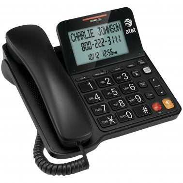 AT&T CL2940 Corded Speakerphone with Large Display