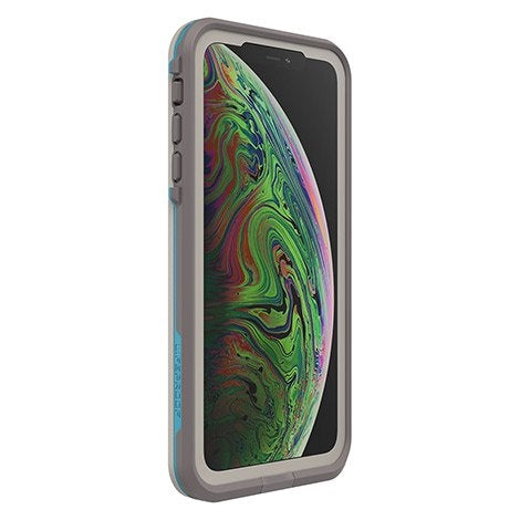 Lifeproof Fre Waterproof Case for iPhone XS Max (Grey/Blue)