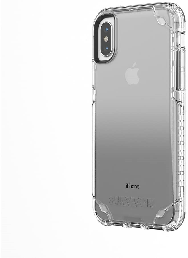 Griffin Survivor Strong Case for iPhone X/XS (Clear)