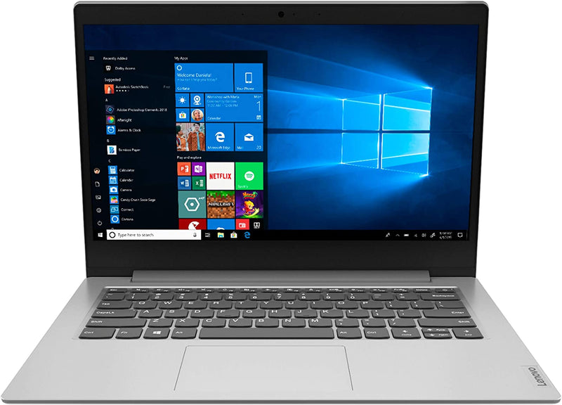 "Lenovo IdeaPad 1 14"" Laptop Platinum Gray"