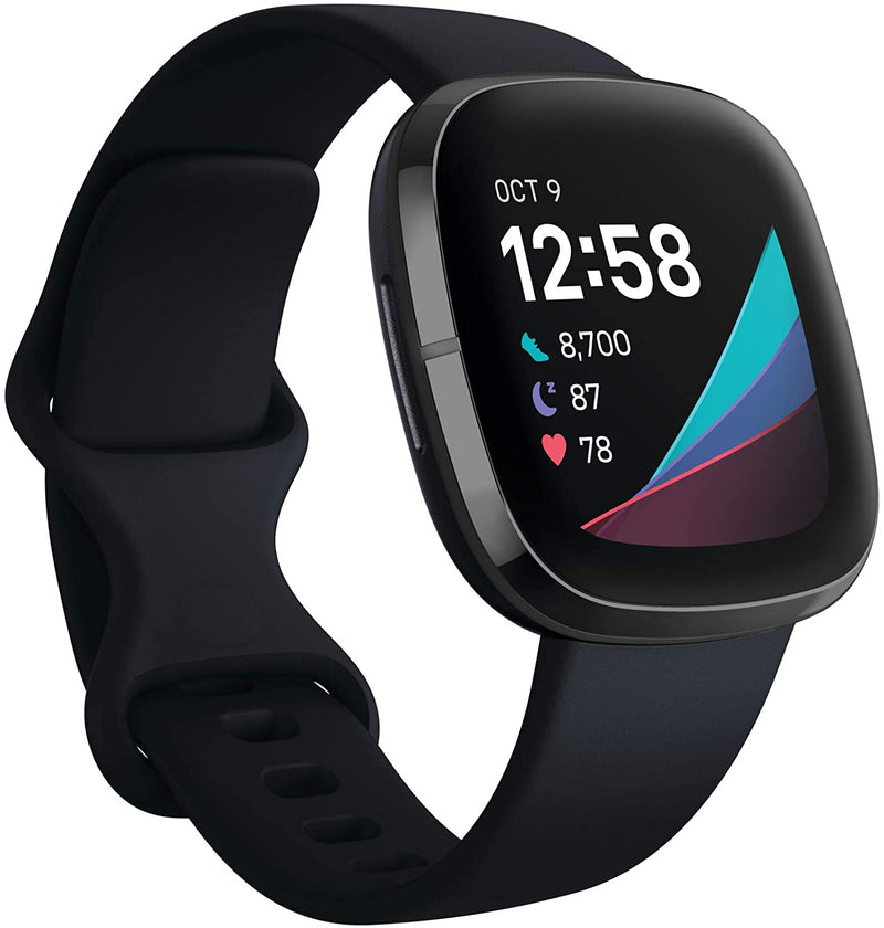Fitbit Sense Advanced Smartwatch with Heart Health & Stress Management