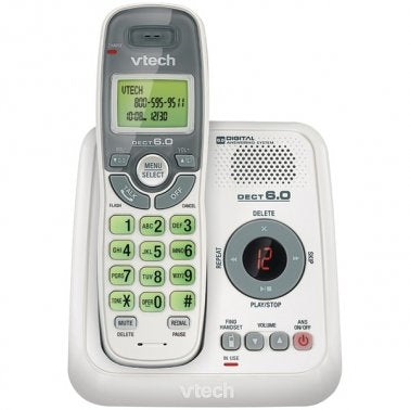 VTECH CS6124 DECT 6.0 Cordless Phone System (with Digital Answering System)