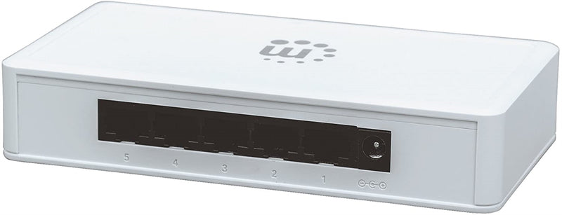 Manhattan Gigabit Ethernet Switch (5 Port)
