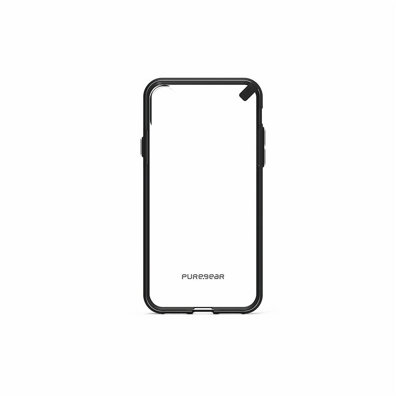 Puregear Slim Shell Case for iPhone X (Clear/Black)