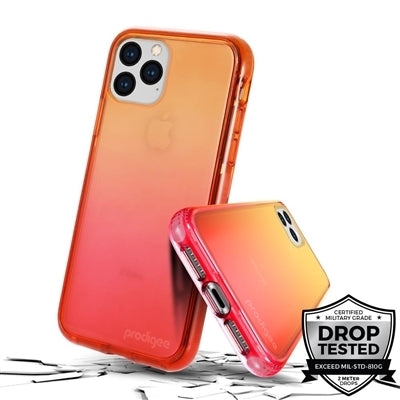 Prodigee Safetee Flow for iPhone XS Max (Orange)
