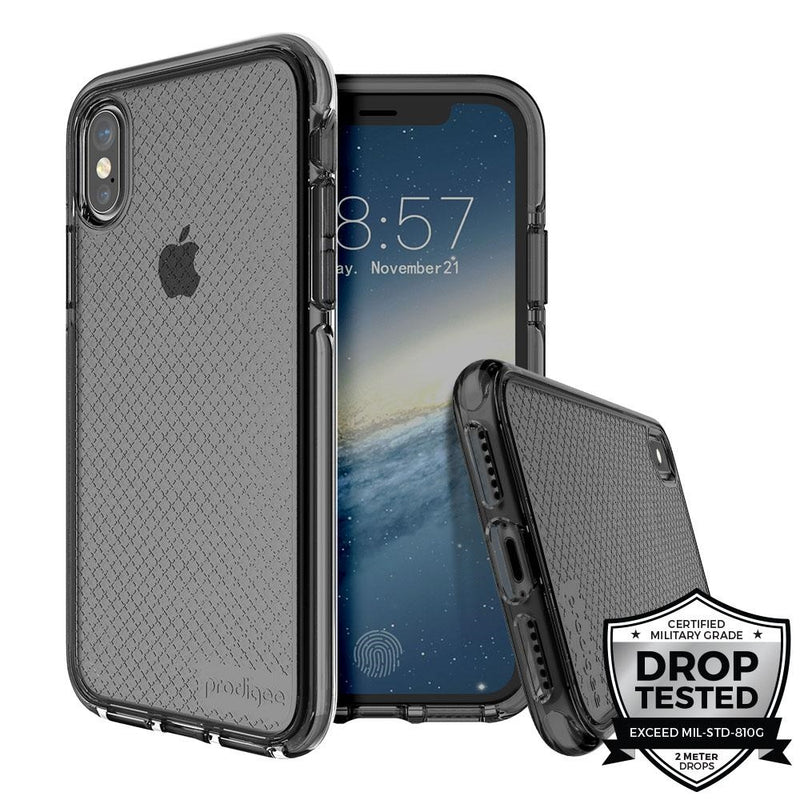 Prodigee Safetee for iPhone X/XS (Smoke)