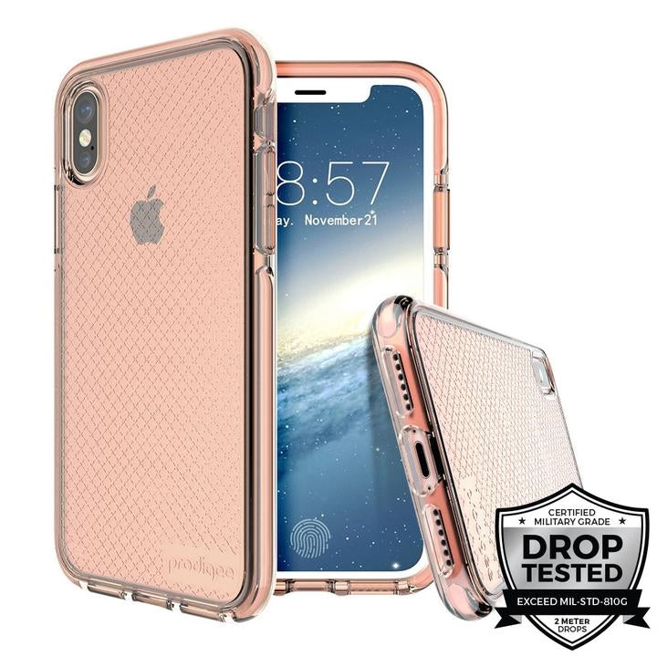 Prodigee Safetee for iPhone X/XS (Rose)